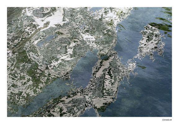 Wasserspiegelungen bei Stein am Rhein