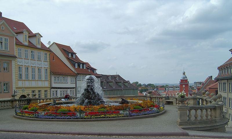 Wasserspiel in Gotha