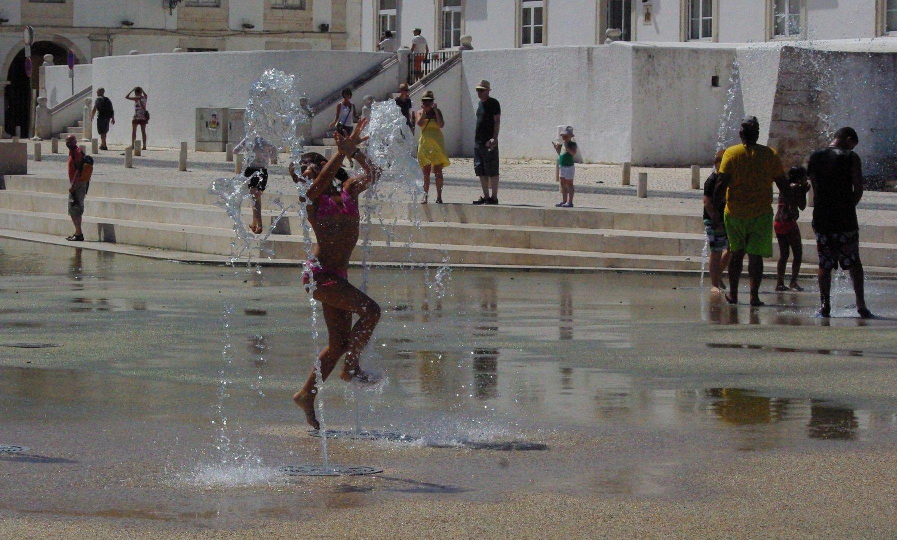 Wasserspiel in Largos