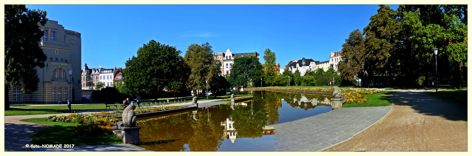 Wasserspiele am Staatstheater Cottbus