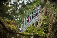 Wasserspiele an der Teufelsbrücke im Bergpark Kassel / Weltkulturerbe (6)