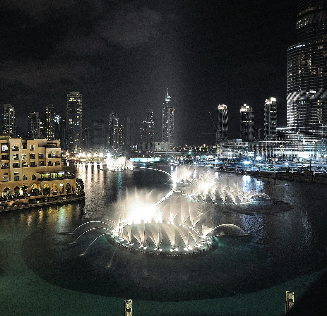 Wasserspiele - Dubai Fountain