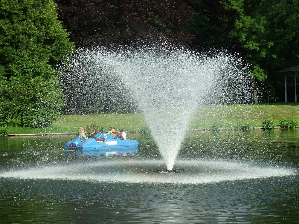 Wasserspiele im Fredenbaumpark