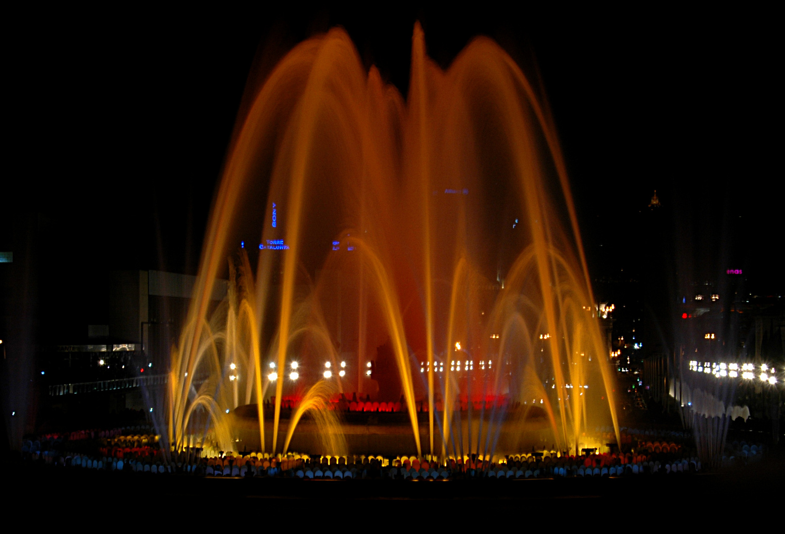 Wasserspiele in  Barcelona 2