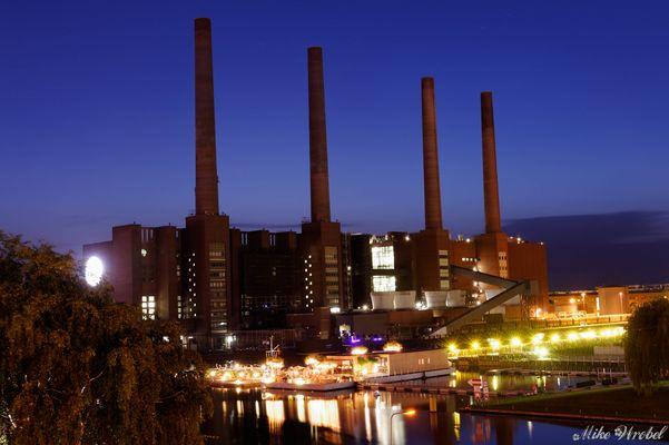 Wasserspiele in der Autostadt Wolfsburg 2012