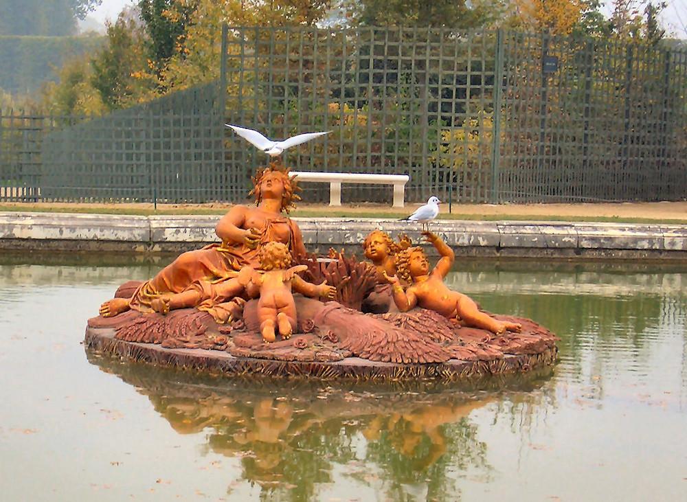 Wasserspiele in Versailles