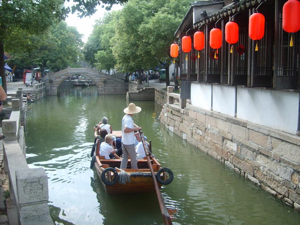 Wasserstadt Tongli (China)