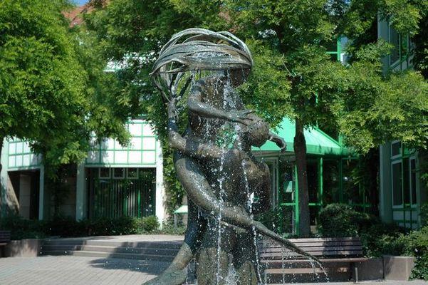 Wasserstatue