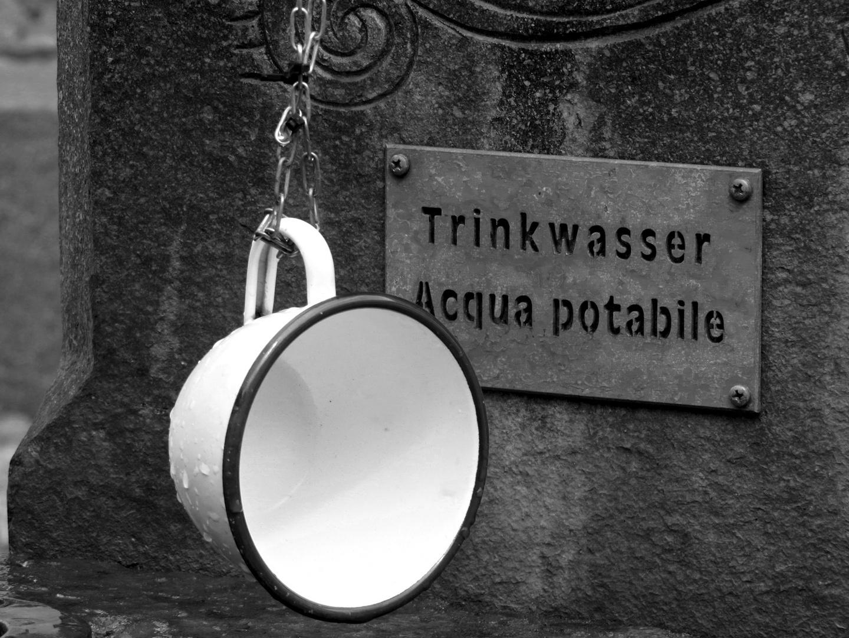 Wasserstelle.