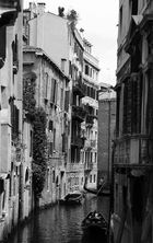 Wasserstraße Venedig