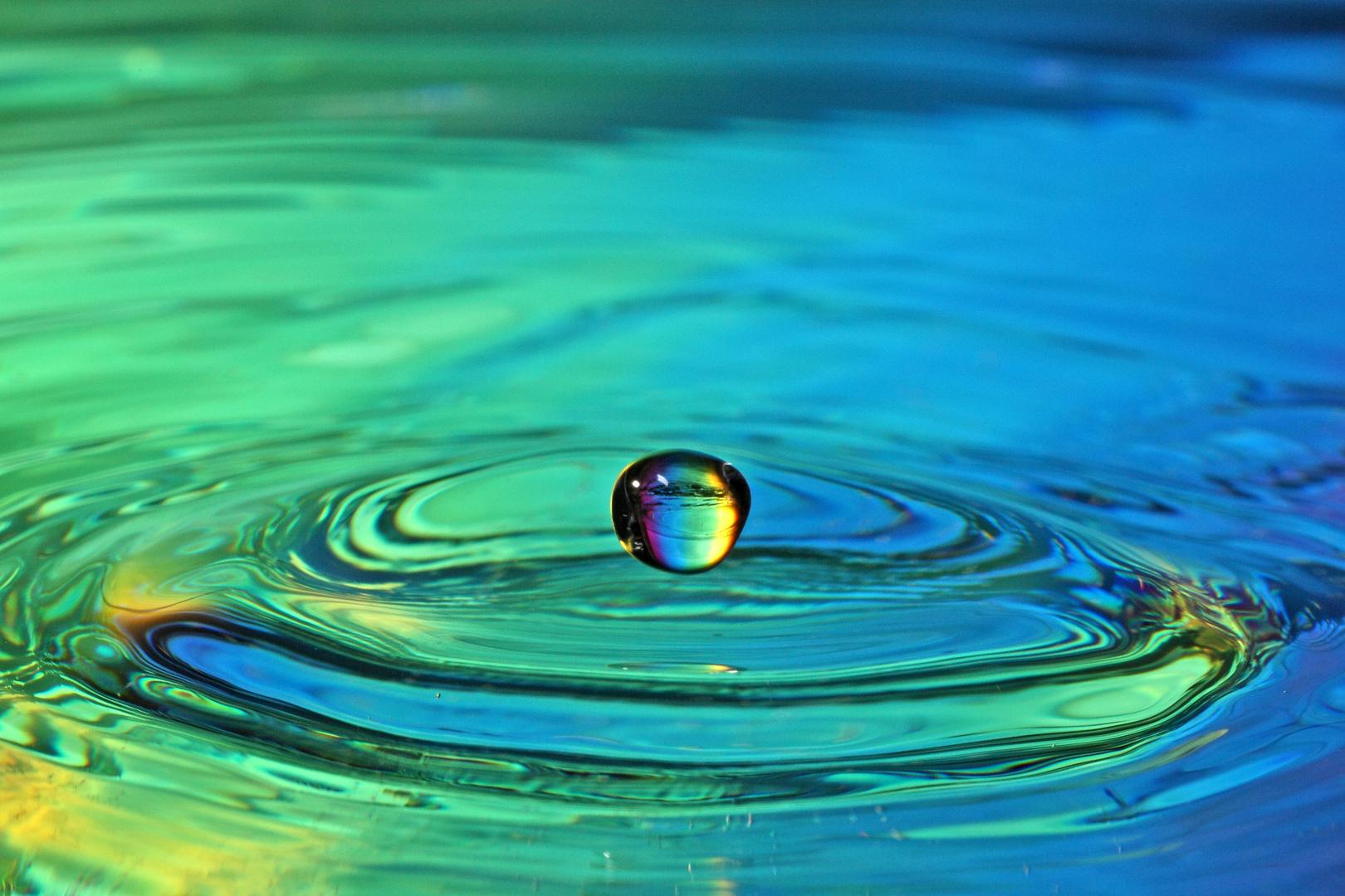 Wassertropfenversuch