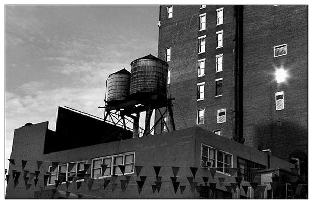 Wassertürme in New York