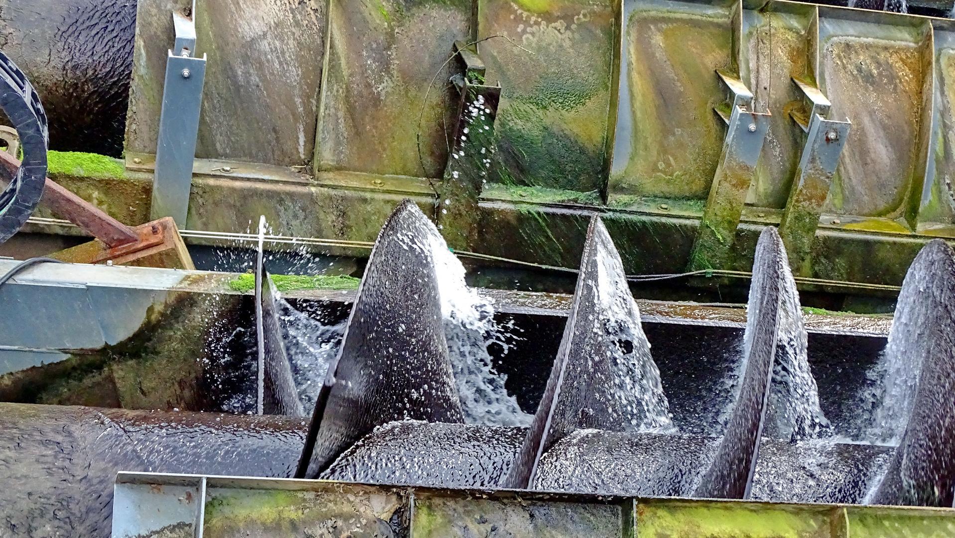 Wasserturbine in Hann. Münden