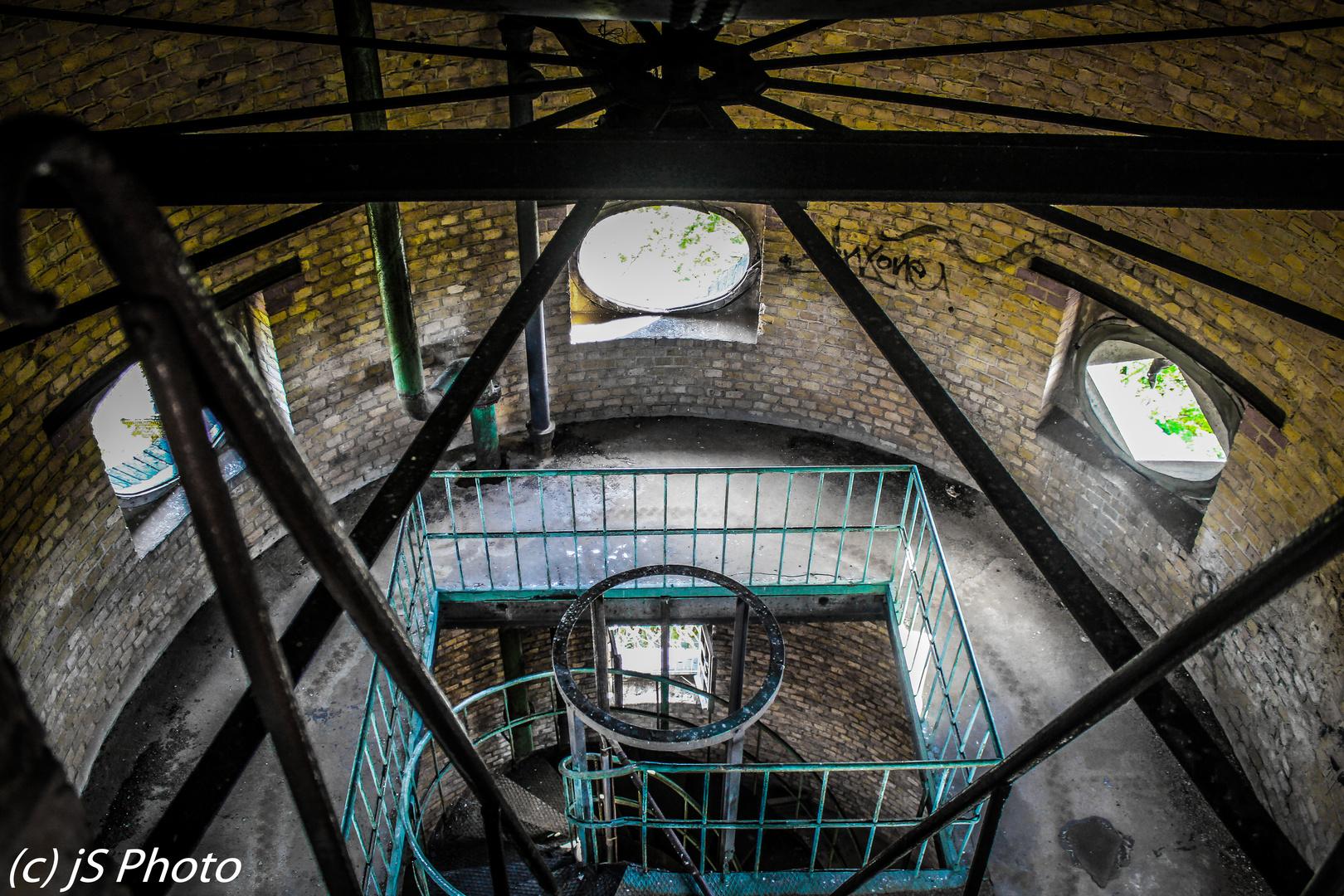 Wasserturm auf dem Kasernengelände
