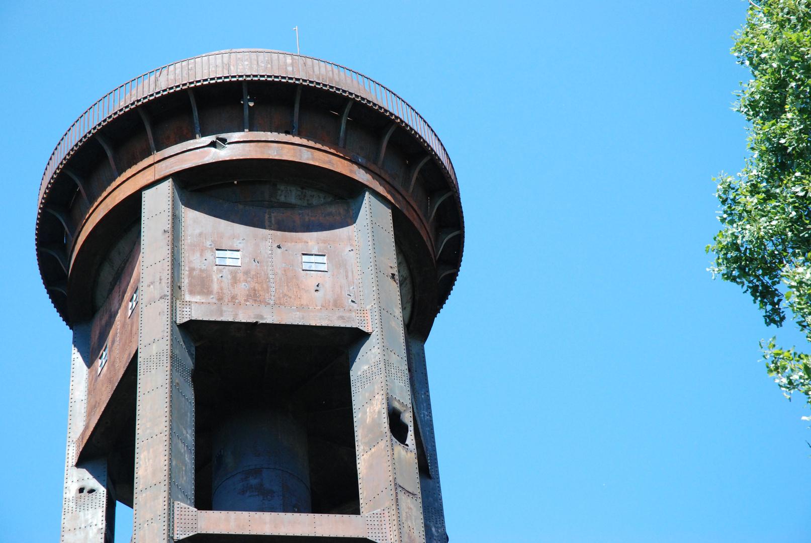Wasserturm auf dem Schöneberger Südgelände / Auch das ist Berlin