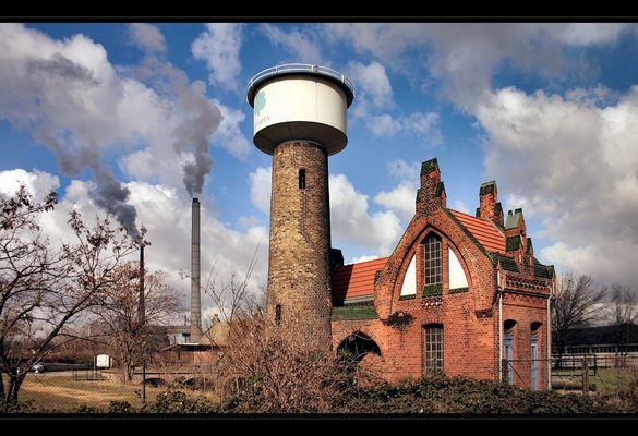 Wasserturm Friesenheimer Insel