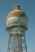 Wasserturm Ilsede mit Mond