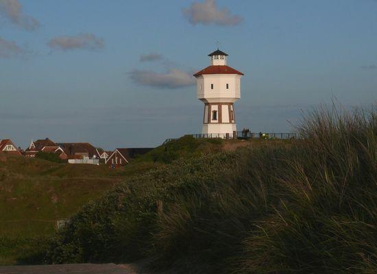 Wasserturm im Abendlicht