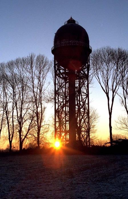 Wasserturm in Dortmund-Lanstrop