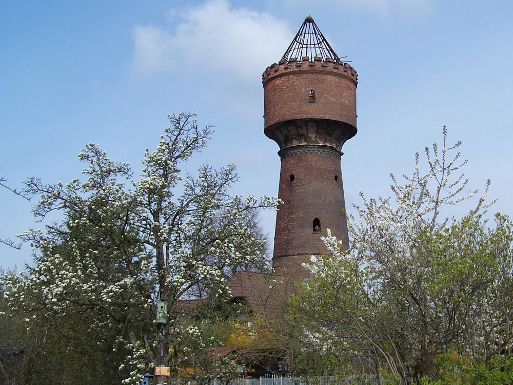 Wasserturm in Halle-Diemitz