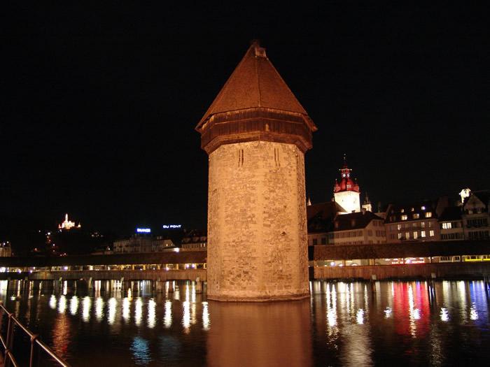 Wasserturm in Luzern
