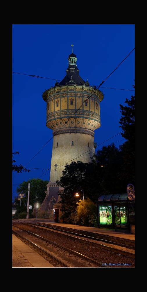 Wasserturm Nord in Halle an der Saale