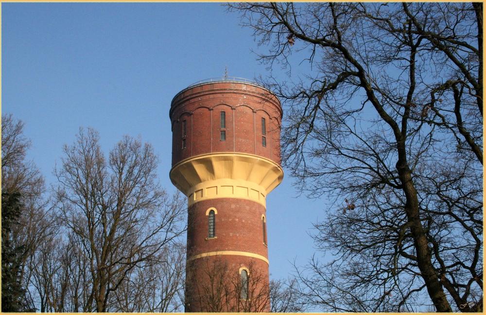 Wasserturm Oldenburg von 1896 ... Westseite
