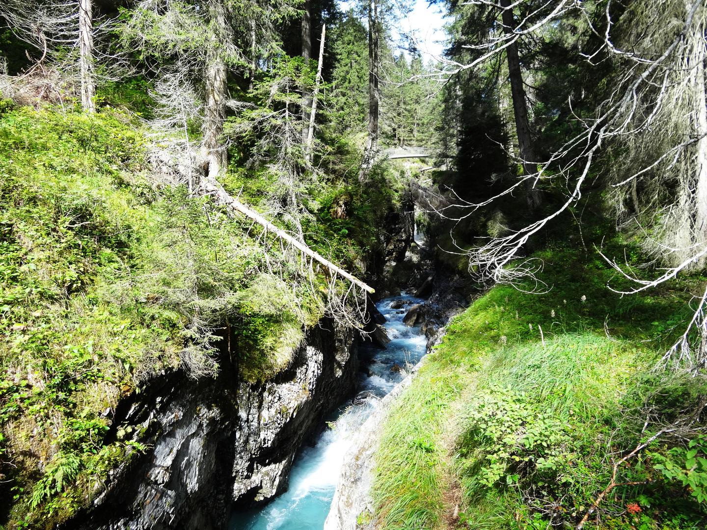 Wasserweg in Flims/Laax