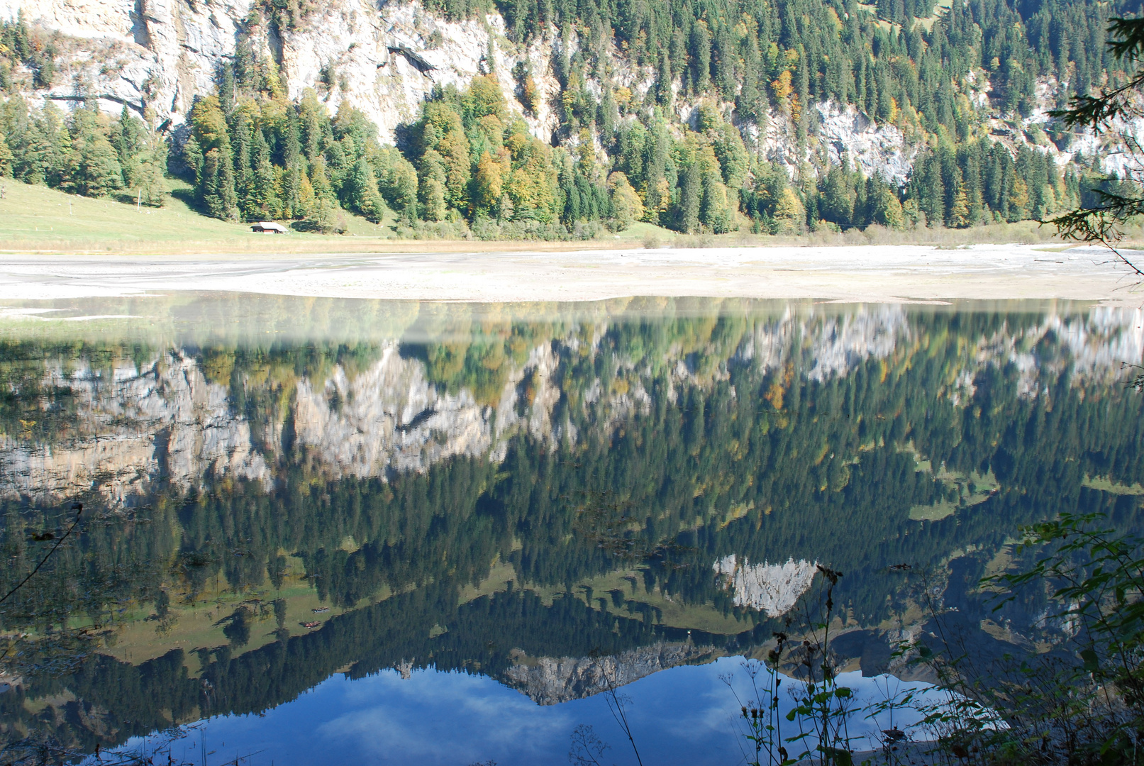 Wasserwelt am Tschingelsee/BE Oberland