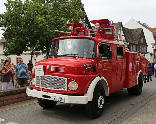 Wasserwerfer Polizei  WaWe - Feuerwehrfahrzeug TLF
