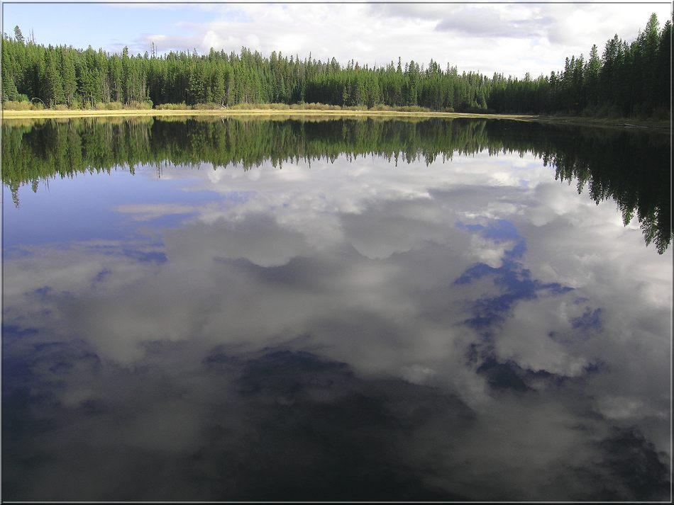 Wasserwolkenspiel