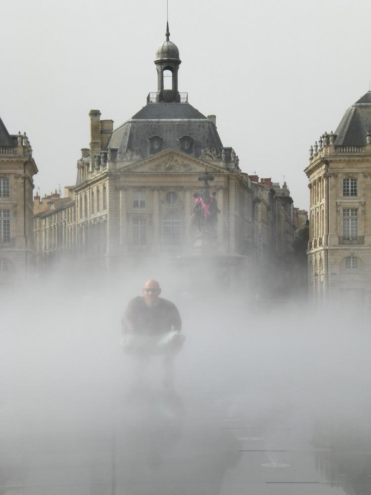 Wassespiele in Frankreich
