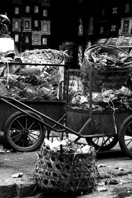 waste ... in town