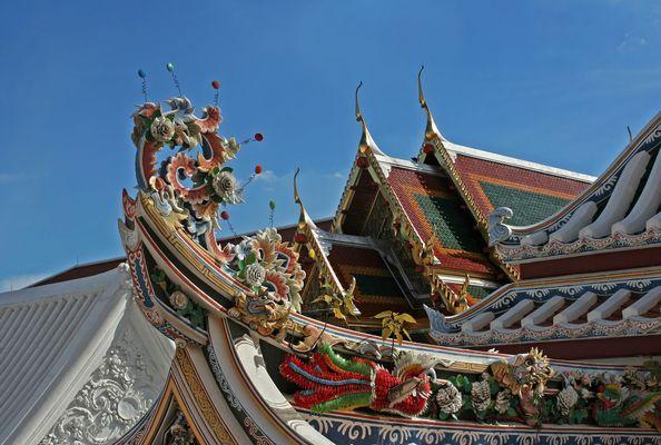 Wat Bowonniwet: Architekturdetail