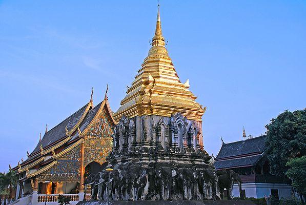 Wat Chiang Man - Chiang Mai