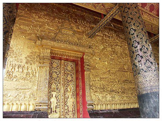 Wat Mai Suwannapumaram - Luang Prabang, Laos