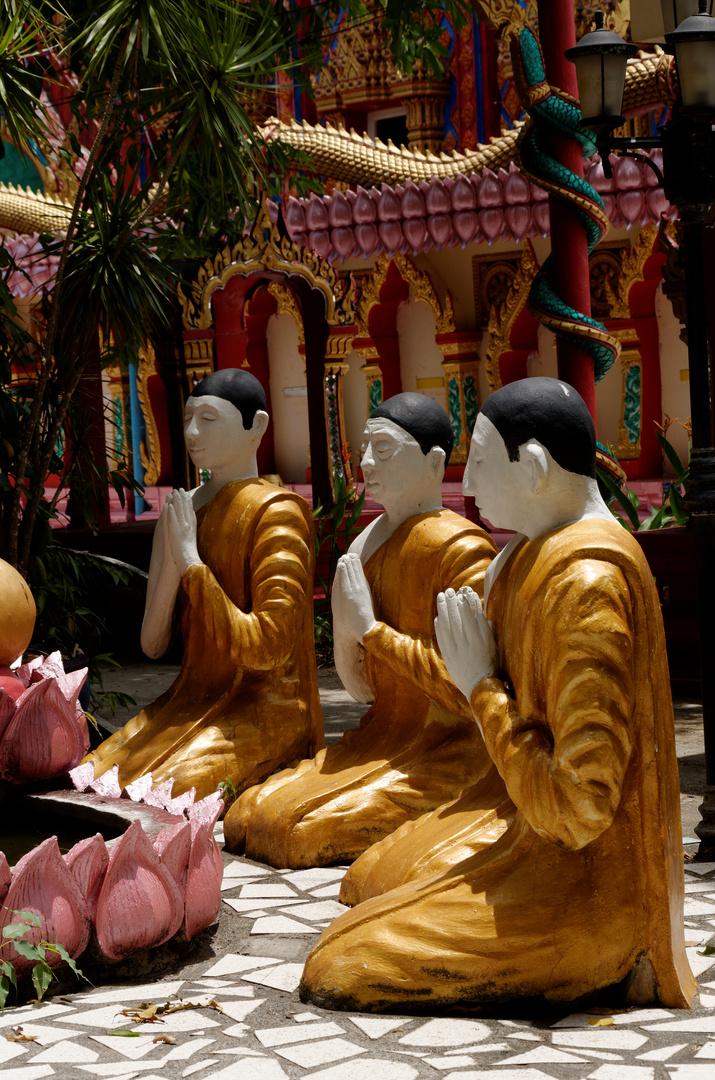 Wat Phra Wang Sang 2, Talang, Phuket, März 2013