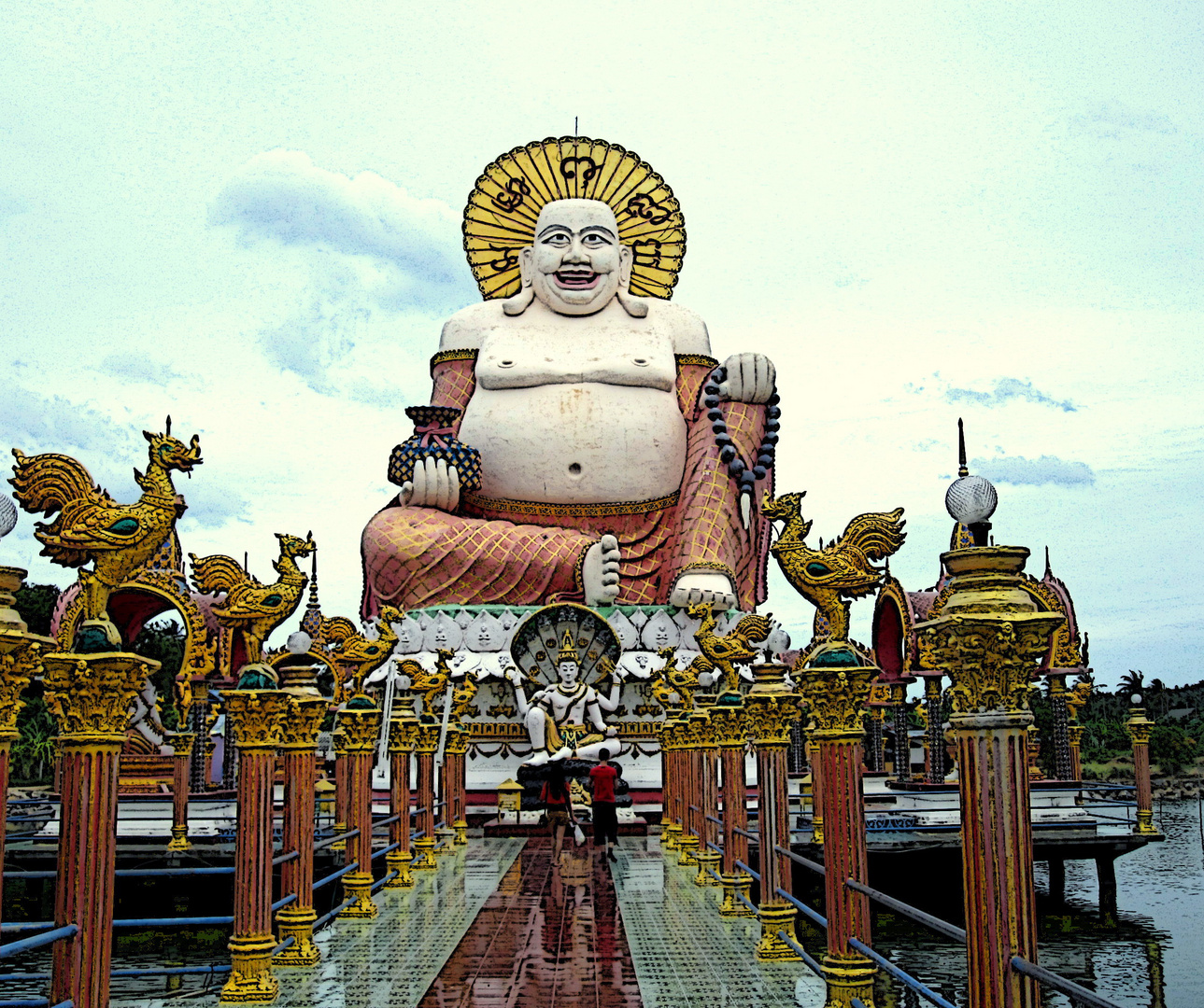 Wat Plai Laem (zweiter Versuch)