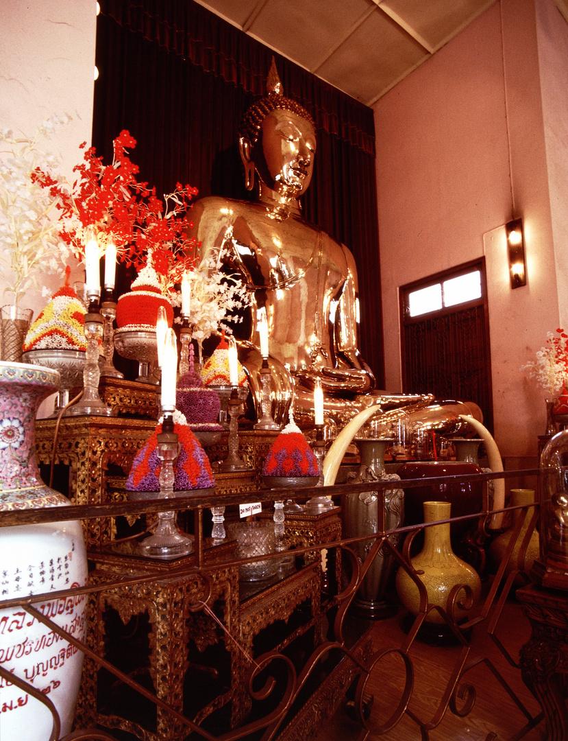 Wat Traimit / Goldener Buddha in Bangkok