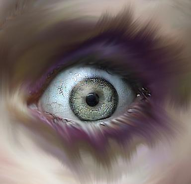 Watching the inner eye.