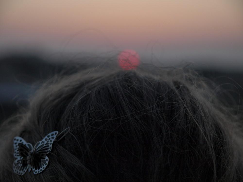 Watching the sundown...