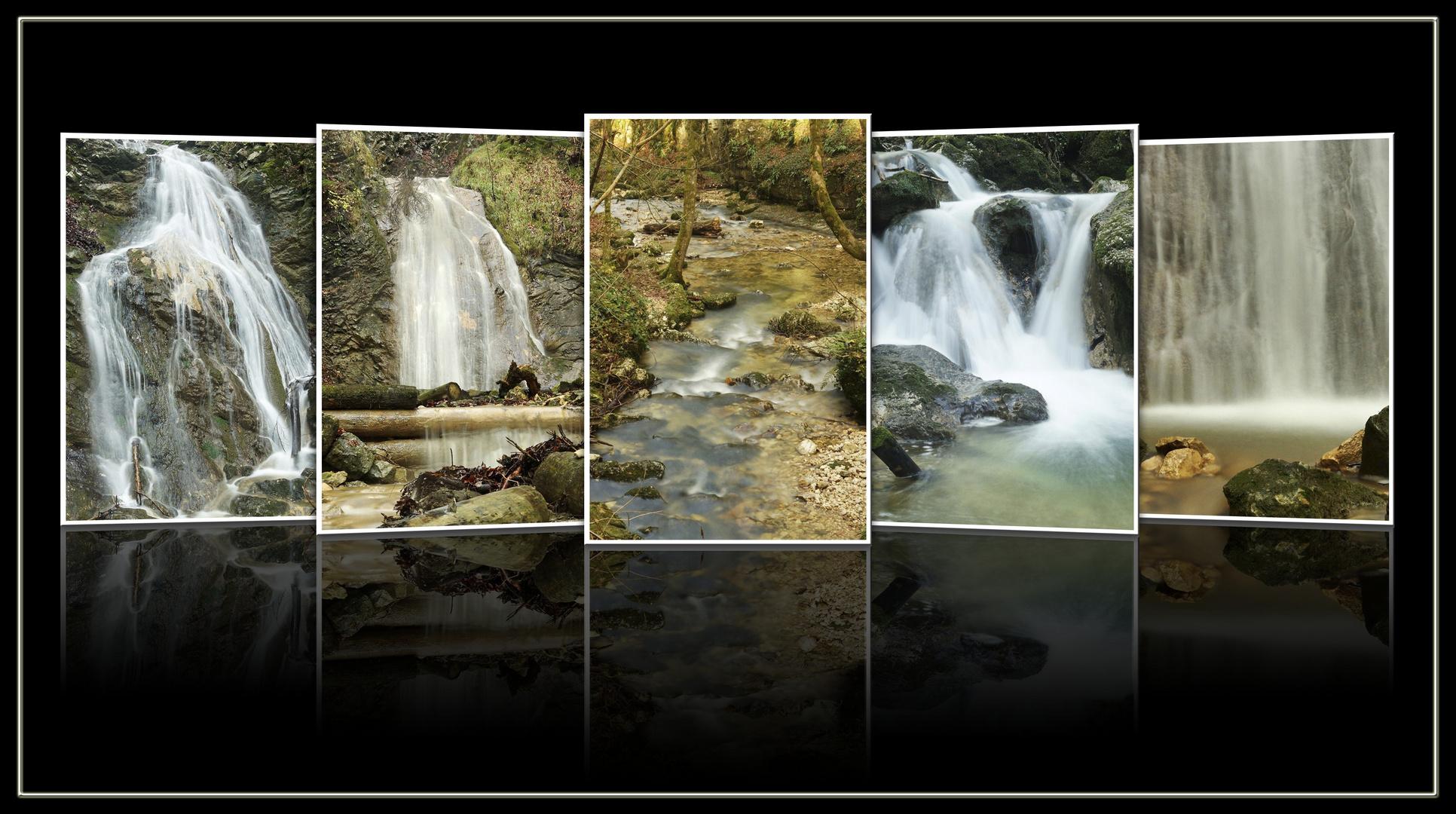 + Water flow +