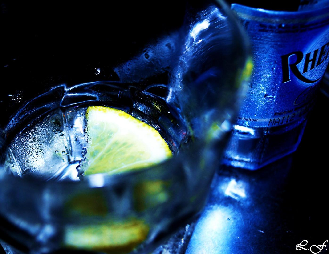 water glass V