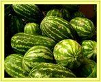 Water melons - Wassermelonen - Angurie