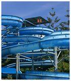 Water slides in Fuengirola, Spain.