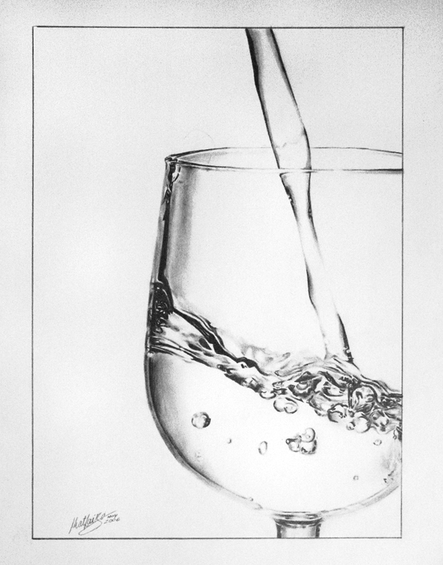Water with Glas
