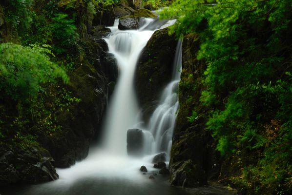 Waterfall at Rydall, Lake District, UK