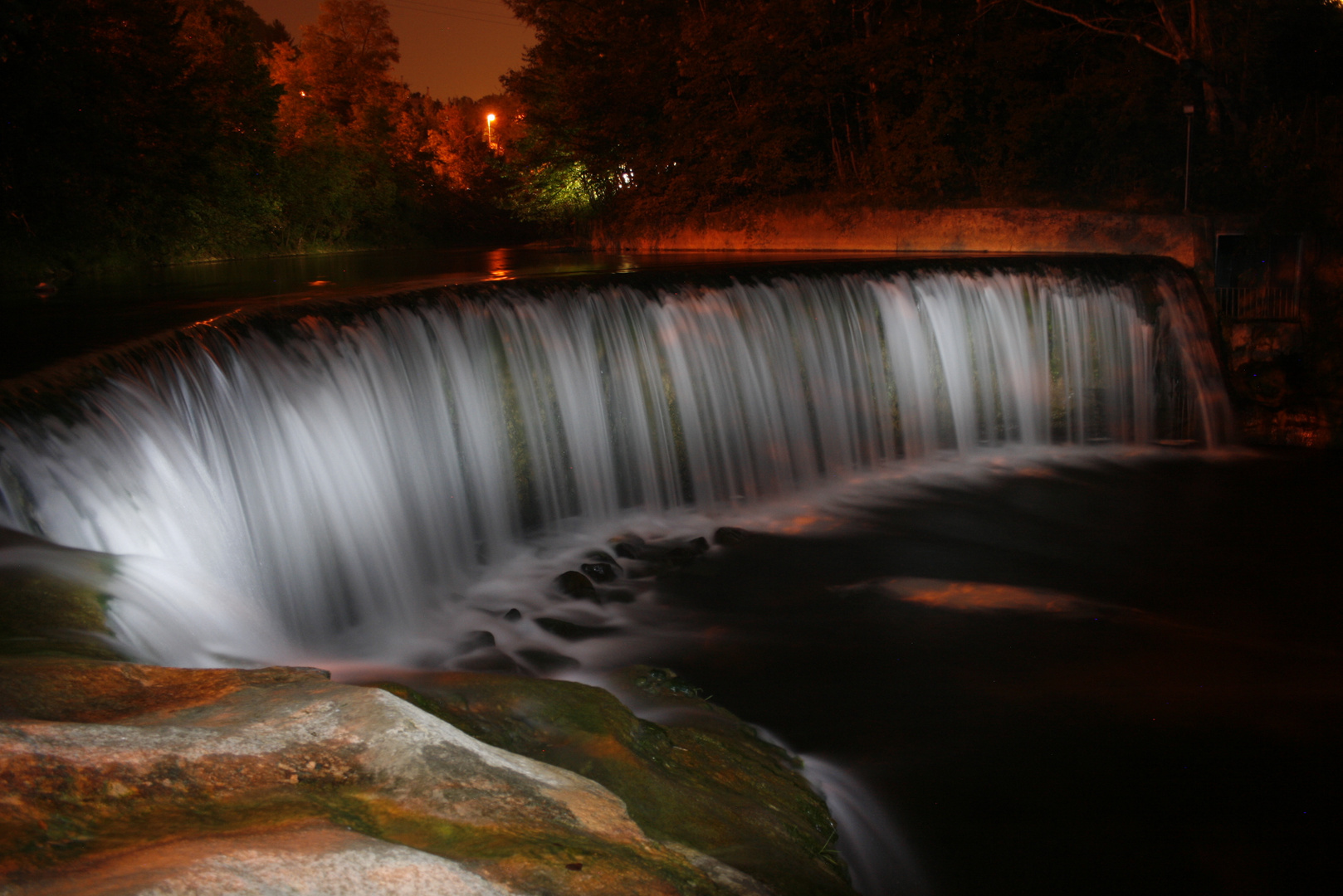 Waterfall by Night