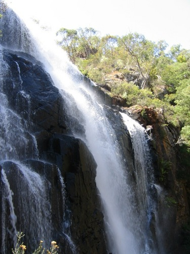 Waterfall close to the Grampians
