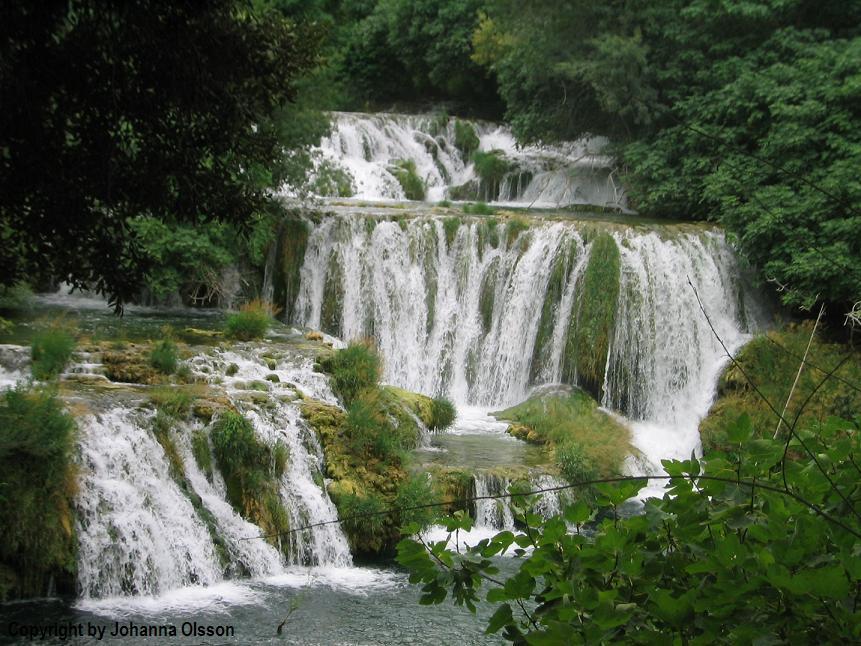 Waterfall in Croatia